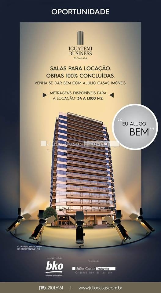 Sala Comercial Campolim Sorocaba