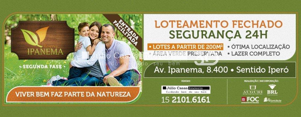 Empreendimento Reserva Ipanema Sorocaba