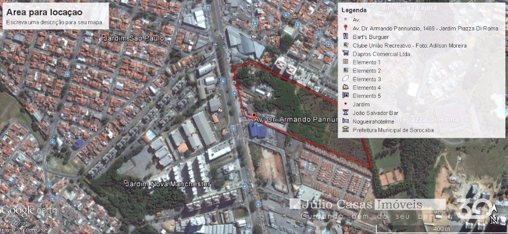Area Jardim Vera Cruz Sorocaba